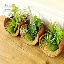2015 NEW Genuine The pastoral nature simulation succulent plants bonsai  decoration decorative plant The decorations on the table-in Artificial &  Dried ...