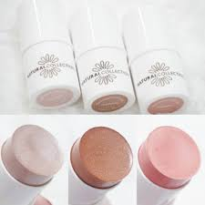 lipstick in addition to the new eyebrow s there are also three new natural collection highlighter sticks