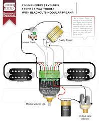3 way toggle seymour duncan part 2 2 hum 1 volume 1 tone 3 way toggle blackout modular preamp