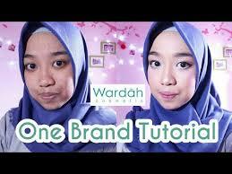 wardah one brand tutorial untuk pemula