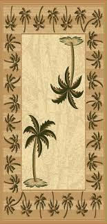 palm tree area rugs tremendeous wonderful runner rug roselawnlutheran