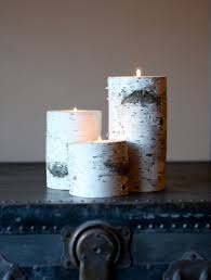 ... Attractive Accessories For Table Centerpiece Decoration With Birch Bark  Candle Holders : Excellent Picture Of Accessories ...
