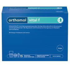 Orthomol Vital F Granulattablettenkapsel Orange