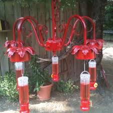 40 creative diy chandelier hummingbird feeder ideas 36