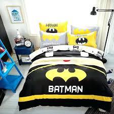 batman bedding sets full cute cotton king size set cartoon style duvet cover bed lego siz