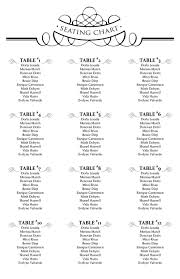 Create Seating Chart Template 029 Free Wedding Seating Chart Template Microsoft Excel