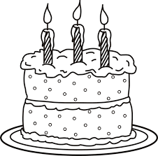 Small Picture Birthday Cake Coloring Page chuckbuttcom