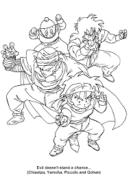 Dragon Ball Z Coloring Pages Coloringpages1001com
