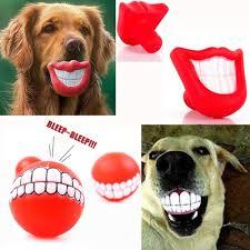 Big-lipped fish latex dog toy