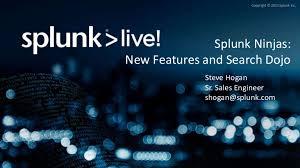 Splunk Ninjas New Features Pivot And Search Dojo