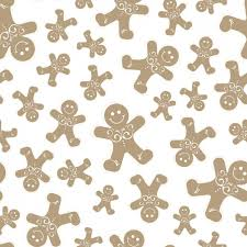gingerbread background. Perfect Gingerbread Fantastic Christmas Background With Smiling Gingerbread Cookies Free Vector To Gingerbread Background
