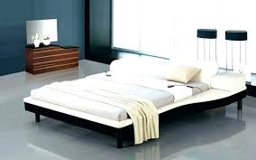 Low King Bed Low Platform Bed King Low Bed Frames Queen Large Size ...