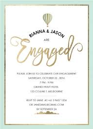 Engagement Invitation Format Amazing Engagement Party Invitations Design It Online Paperlust