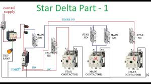 star delta starter motor control with circuit diagram in hindi part 1 you