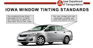 Iowa Window Tint Laws And Legal Limit Indianola Window Tint