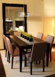 Dining Room Table Decor Design 40 Elegant Centerpiece Ideas Mirror Fascinating Dining Room Table Decorating
