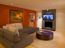 Awesome Ideas For Basement Floors With Concrete Finished Basement - Finish basement floor