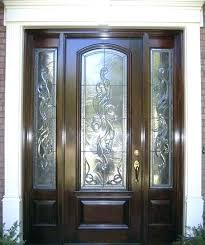 stained glass panels for front doors wood exterior doors with glass estate exterior wood front entry stained glass panels for front doors