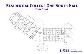 Residential College One South Hall Lsu Residential Life
