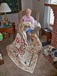 Margo K made this pretty star quilt | Show and Tell! | Pinterest ... & Sandy and her little helper, McDuff working with a Barnett's Floor Stand.  To see · Quilting HoopsHand ... Adamdwight.com