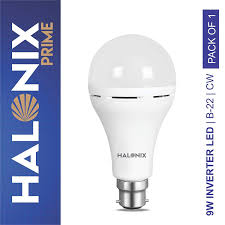 Buy Halonix Inverter Led Bulb B22 9 Watt White Online At Low