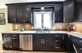 kitchen interior medium size black shaker cabinets kitchen cabinet with marble style pictures