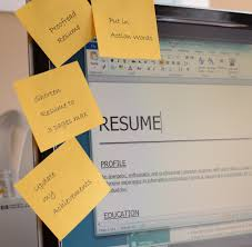 5 easy to correct resume mistakes updateresumepostitsonmonitor3