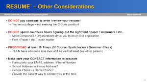 Engineering Employment Considerations Ppt Download
