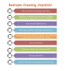 Clean Bedroom Checklist Photo   1
