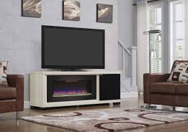 70 brickell infrared antique white media mantel electric fireplace 47imm4931 t406
