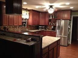 Kitchen Impressive White Lighting With Maple Kitchen Cabinets - Semi flush kitchen lighting