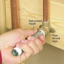 How to install shower plumbing Head Step Tighten And Install Better Homes And Gardens Hooking Up Shower Or Tub Faucet