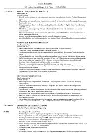 Sample Resume For Experienced Network Engineer Cloud Network Engineer Resume Samples Velvet Jobs 7