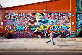 captured  on wall mural artist los angeles with los angeles x westcoasting x the vortex werc