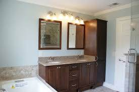 bathroom vanity and linen cabinet. Vanity And Linen Tower Traditional-bathroom Bathroom Cabinet