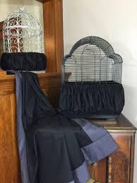 Handmade Skirt Size Chart Details About New Handmade Black Fabric Bird Cage Skirt Seed Catcher Guard 100 Cotton Xs Xxl
