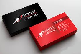 Playful Professional Finance Business Card Design For