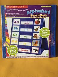Upc 029116312081 Scholastic Alphabet Pocket Chart Activity