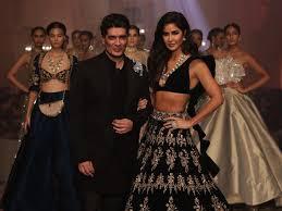 Manish Malhotra Designer Long Skirts Manish Malhotra Opens Lakme Fashion Week With Katrina Kaif