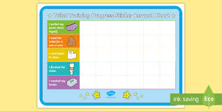 Free Potty Training Reward Chart And Stickers Toilet Training Progress Sticker Reward Charts Potty
