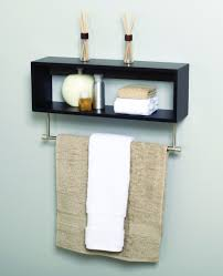 wood towel bar. Lastest White Wood Wall Cabinet With Open Storage And Towel Bar Walmartcom