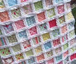 292 best Rag Quilts images on Pinterest | American girls, Cast on ... & cheerful rag quilt Adamdwight.com