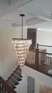 heli odeon crystal fringe chandelier 36
