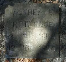 Althea E. Rutledge (1954-1994) - Find A Grave Memorial