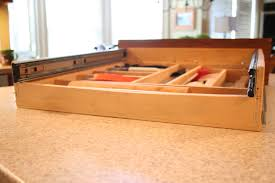 Kitchen Cabinet Drawers Slides Make The Most Of Your Drawers