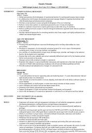 Its purpose is to elaborate on the information contained in your resume. Biologist Resume Samples Velvet Jobs
