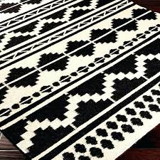 lovely black and white aztec rug or bright inspiration black and white tribal rug charming ideas