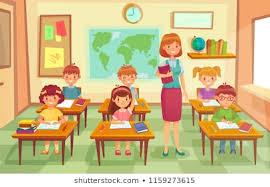 Children Education Cartoons Royalty Free Classroom Images Stock Photos Vectors Shutterstock