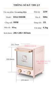 Lò nướng Mini 12L Joyoung x Hello Kitty CÔNG TY TNHH VILINK ICC