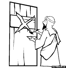 Small Picture Passover Online Coloring Pages Page 1